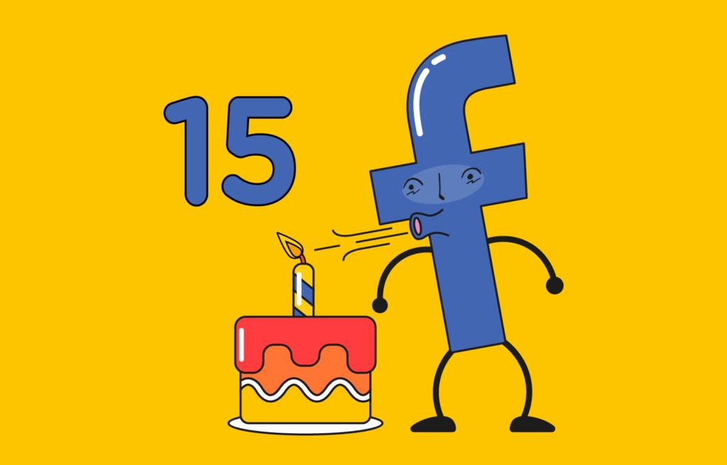 O Facebook está de Parabéns!